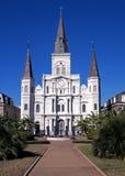 Άγιος Louis Cathedral, Νέα Ορλεάνη, ΗΠΑ. Στοκ Φωτογραφία