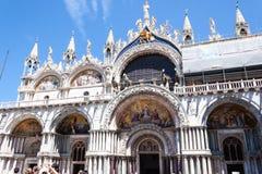 Άγιος Mark ` s Basilica Basilica Di SAN Marco Στοκ Εικόνα