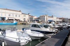 Άγιος Martin EN σχετικά με - Ile de Re Nouvelle Aquitaine/Γαλλία - 05 02 2019: ile de σχετικά με το νησί στη Γαλλία στοκ φωτογραφία