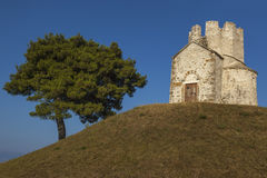 Άγιος Nikola κοντά στη Nin, Κροατία Στοκ φωτογραφία με δικαίωμα ελεύθερης χρήσης