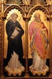 Άγιος Peter και Άγιος Βασίλης Στοκ Εικόνες