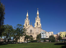 Άγιος Peter και εκκλησία Σαν Φρανσίσκο Paul Στοκ Εικόνες