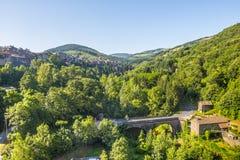 Άγιος-Sernin-sur-Rance στοκ εικόνα με δικαίωμα ελεύθερης χρήσης