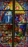 Άγιος Thomas Aquinas - λεκιασμένο γυαλί Στοκ φωτογραφία με δικαίωμα ελεύθερης χρήσης