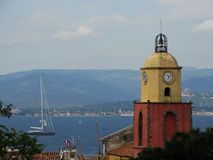 Άγιος-Tropez Γαλλία Στοκ Εικόνα