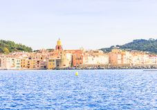Άγιος Tropez, Μεσόγειος, νότος της Γαλλίας Στοκ Φωτογραφίες