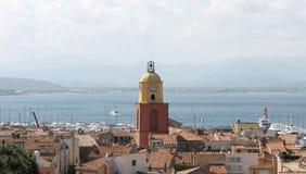 Άγιος-Tropez πόλη, Γαλλία στοκ εικόνες