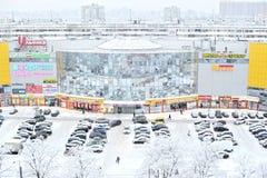 ΆΓΙΟΣ-ΠΕΤΡΟΥΠΟΛΗ, ΡΩΣΙΑ - 18 ΙΑΝΟΥΑΡΊΟΥ 2016: χειμερινή άποψη από το θόριο Στοκ φωτογραφία με δικαίωμα ελεύθερης χρήσης