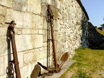 Άγκυρα από τον τοίχο στοκ εικόνα με δικαίωμα ελεύθερης χρήσης