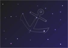 Άγκυρα αστερισμού Στοκ Εικόνες