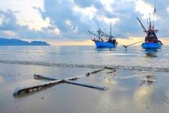 Άγκυρα των αλιευτικών σκαφών Στοκ Εικόνα