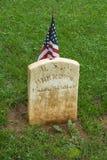 Άγνωστος στρατιώτης ένωσης στο ομόσπονδο νεκροταφείο Appomattox Στοκ φωτογραφία με δικαίωμα ελεύθερης χρήσης