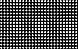 Άγνωστο δικτυωτό πλέγμα με το Μαύρο και whyte τα χρώματα Στοκ Φωτογραφίες