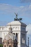 Άγνωστο μνημείο στρατιωτών της Ρώμης στοκ φωτογραφία
