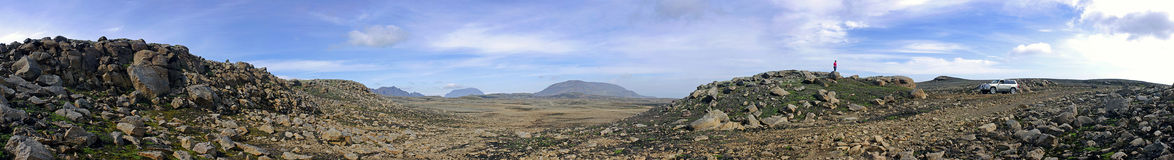 άγονο τοπίο kjolur στοκ εικόνες με δικαίωμα ελεύθερης χρήσης