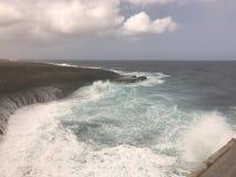 Άγρια θάλασσα σε Boca Grandi Στοκ φωτογραφία με δικαίωμα ελεύθερης χρήσης