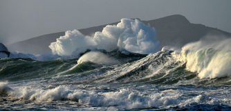 Άγρια θάλασσα Στοκ Φωτογραφίες