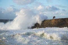Άγρια κύματα στοκ φωτογραφία με δικαίωμα ελεύθερης χρήσης