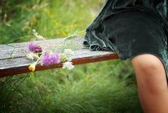 Άγρια λουλούδια Στοκ εικόνα με δικαίωμα ελεύθερης χρήσης