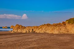 Άγρια παραλία στοκ εικόνες με δικαίωμα ελεύθερης χρήσης