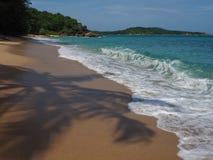 Άγρια παραλία σε Phuket Στοκ Εικόνα