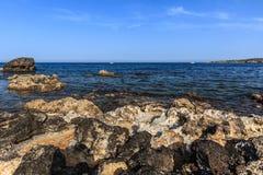 Άγρια παραλία Στοκ Φωτογραφίες