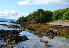 άγρια περιοχές ακτών στοκ εικόνες