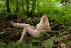 άγρια περιοχές κοριτσιών Στοκ Φωτογραφίες