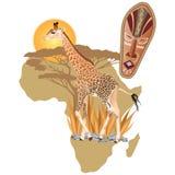 άγρια φύση της Αφρικής Στοκ εικόνες με δικαίωμα ελεύθερης χρήσης