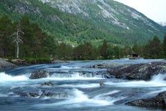 Άγριος ποταμός στοκ φωτογραφία