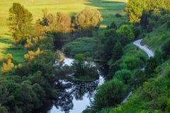 Άγριος ποταμός Στοκ Εικόνες