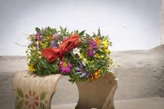 άγριο στεφάνι λουλουδ&io Στοκ εικόνα με δικαίωμα ελεύθερης χρήσης