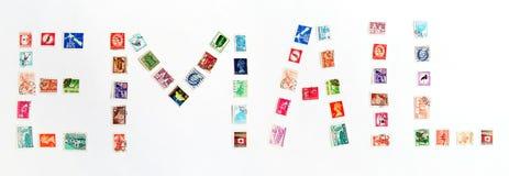 άγρυπνα γραμματόσημα ηλεκτρονικού ταχυδρομείου Στοκ εικόνα με δικαίωμα ελεύθερης χρήσης