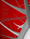 άγρυπνο κόκκινο Στοκ Εικόνες