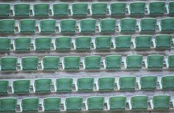 Άδειες θέσεις στις σειρές Στοκ εικόνες με δικαίωμα ελεύθερης χρήσης