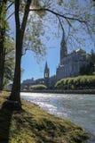Άδυτο της κυρίας Lourdes μας Στοκ φωτογραφία με δικαίωμα ελεύθερης χρήσης