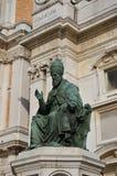 Άδυτο του αγάλματος Loreto του παπά 2 Στοκ Φωτογραφία