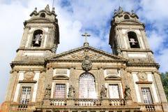 Άδυτο Bom Ιησούς do Monte κοντά στη Braga, Πορτογαλία Στοκ Φωτογραφία
