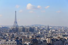 Άιφελ στο Παρίσι Στοκ φωτογραφία με δικαίωμα ελεύθερης χρήσης