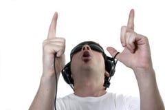 Άκουσμα Στοκ φωτογραφία με δικαίωμα ελεύθερης χρήσης