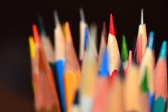 Άκρες μολυβιών Στοκ Εικόνες