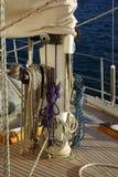 Άκρες σχοινιών καθαρίσματος Στοκ εικόνα με δικαίωμα ελεύθερης χρήσης