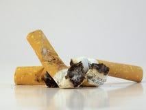 Άκρες τσιγάρων Στοκ Εικόνες