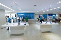 Άκρη γαλαξιών της Samsung S7, Κουάλα Λουμπούρ Στοκ φωτογραφία με δικαίωμα ελεύθερης χρήσης