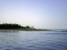 Άκρη της θάλασσας παραλία-Μπανγκλαντές νησιών του ST Martin Στοκ εικόνα με δικαίωμα ελεύθερης χρήσης