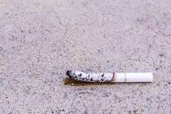 Άκρη τσιγάρων Στοκ εικόνες με δικαίωμα ελεύθερης χρήσης