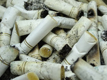 Άκρη τσιγάρων Στοκ φωτογραφία με δικαίωμα ελεύθερης χρήσης