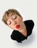 άκρη kisser Στοκ Εικόνα