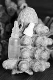 Άλας για το πλύσιμο της μύτης Στοκ εικόνα με δικαίωμα ελεύθερης χρήσης