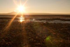 άλας λιμνών atacama Στοκ φωτογραφία με δικαίωμα ελεύθερης χρήσης